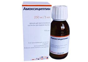 ამოქსიცილინი / Amoxicilin