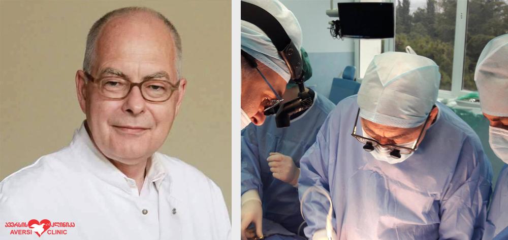 ავერსის კლინიკას ეწვევა ენდოკრინული ქირურგიის მიმართულების ხელმძღვანელი პროფესორი ჰენინგ დრალე