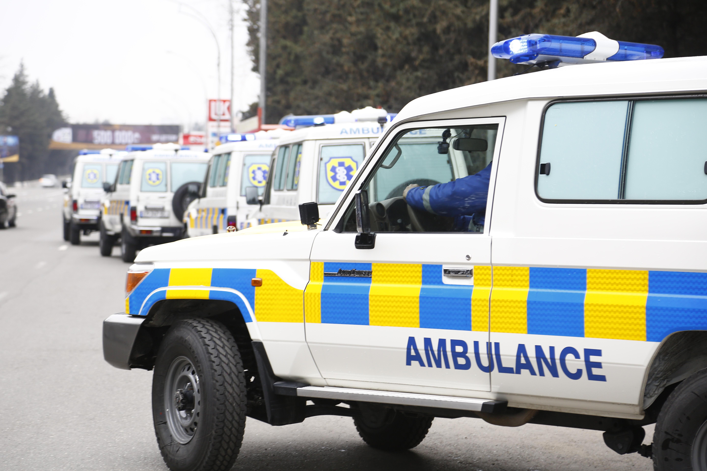 სამცხე-ჯავახეთის რეგიონს სასწრაფო სამედიცინო დახმარების 5 მაღალი გამავლობის მანქანა გადაეცა