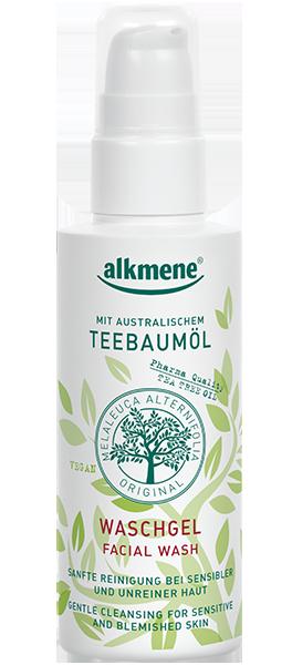 ალკმენე - სახის დასაბანი საშუალება ჩაის ხის / Alkmene - Facial Washgel