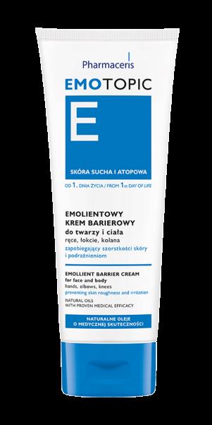 სახისა და ტანის დამცავი ბარიერული კრემი - ემოტოპიკი / Emollient barrier cream - Emotopic