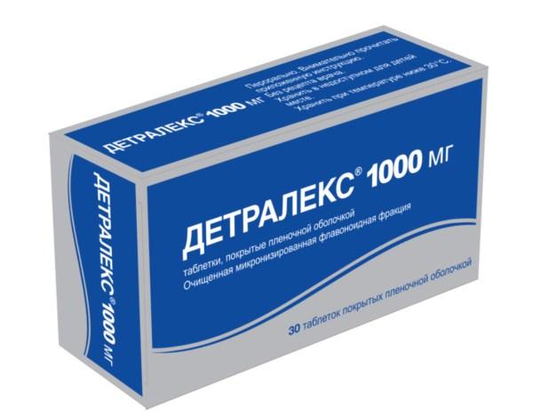 დეტრალექსი 1000 მგ / DETRALEX