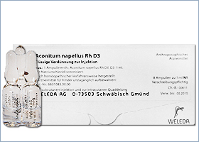 აკონიტი Rh D3 - ველედა / Aconitum napellus Rh D3