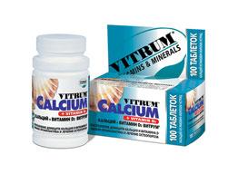 კალციუმი +ვიტამინი D3 ვიტრუმი / CALCIUM + VITAMIN D3 VITRUM