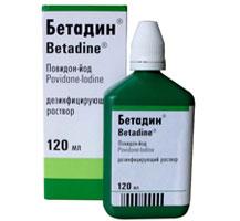 ბეტადინი® ხსნარი / BETADINE®