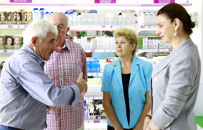 მაია ლაგვილავა მედიკამეტების პროგრამის მიმდინარეობას გაეცნო