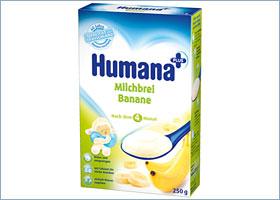 ბანანის რძიანი ფაფა / Milchbrei Bananen