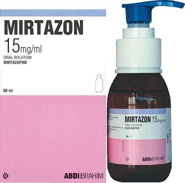 მირტაზონი / Mirtazapine