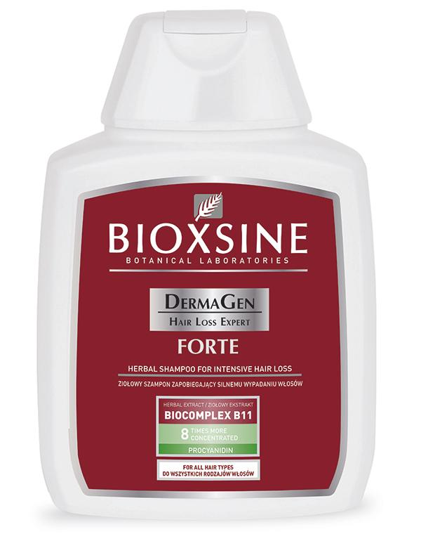 ბიოქსინი - დერმაგენი ფორტე შამპუნი / BIOXINE - DERMAGEN FORTE SHAMPOO