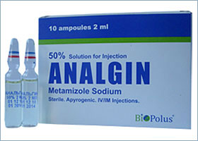ანალგინი / Analgin