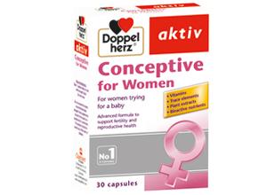 დოპელჰერც აქტივი კონსეპტივი ქალებისათვის / Doppelherz Activ For Woman