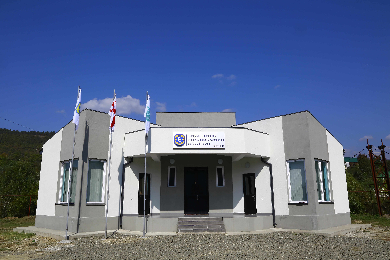 საჩხერის სასწრაფო სამედიცინო დახმარებას ახალი ადმინისტრაციული შენობა აქვს