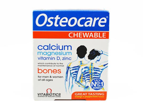 ოსტეოქეა საღეჭი აბები / Osteocare