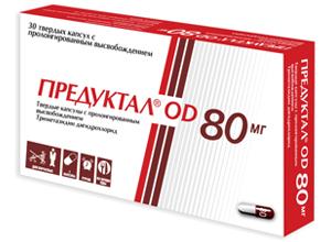 პრედუქტალი® OD / PREDUCTAL OD