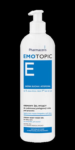 სხეულის დასაბანი კრემ-გელი - ემოტოპიკი / Emollient wash gel - Emotopic