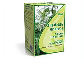 ჭინჭრის ფოთოლი / Folia Urticae