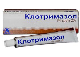 კლოტრიმაზოლი / Clotrimazole
