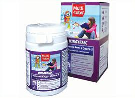 მულტი-ტაბსი – ინტელო ქიდსი ომეგა - 3 / Multi-tabs Intello Kids Omega-3