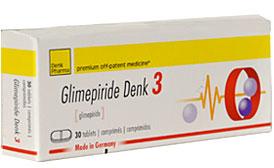 გლიმეპირიდი დენკი 3 / Glimepiride Denk 3