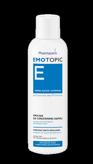 ემულსია ყოველდღიური დაბანისთვის - ემოტოპიკი / Everyday emollient bath oil - Emotopic