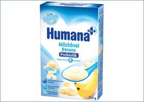 ბანანის რძიანი ფაფა პრებიოტიკით / Humana