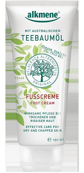 ალკმენე - ფეხის კრემი ჩაის ხის / Alkmene - Foot Cream