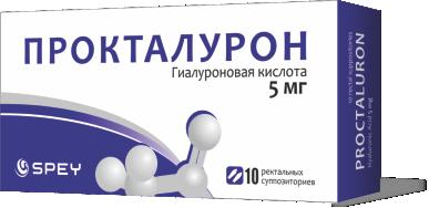 პროქტალურონი / Proctaluron