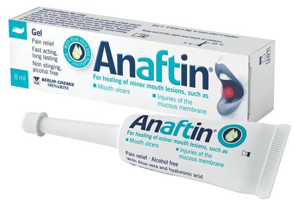ანაფტინი გელი / Anaftin Gel