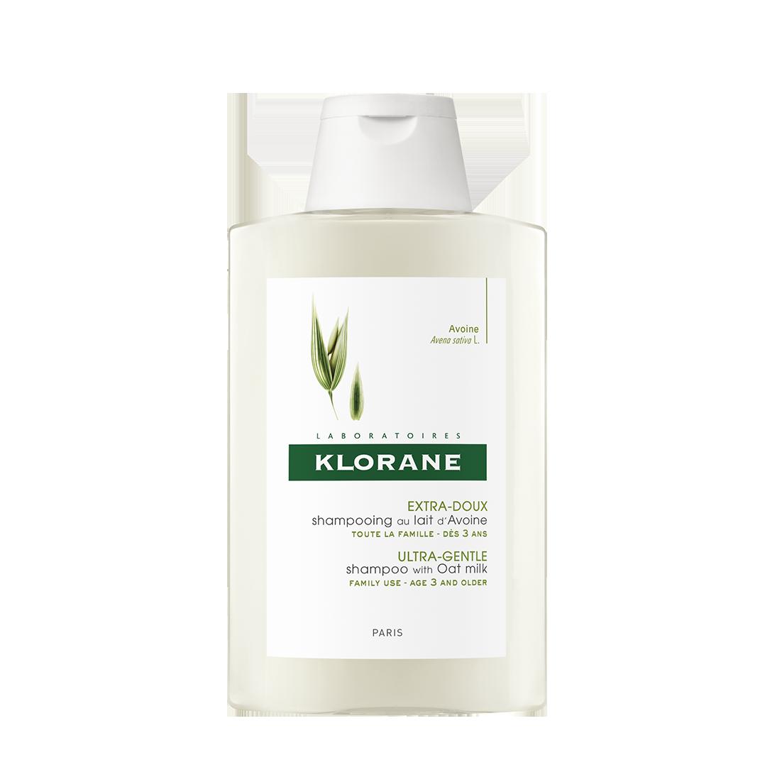 კლორანი - ვუანის შვრიის რძეზე დამზადებული შამპუნი / Klorane - Shampoo  with Oat  milk