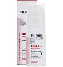 ნუმის მედ ურეა 5% ღამის კრემი / numis® med UREA Night Cream with 5% urea + Hyaluron
