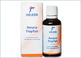 მწარე წვეთები - ველედა / Amara-Tropfen