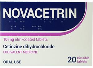 ნოვაცეტრინი / NOVACETRIN
