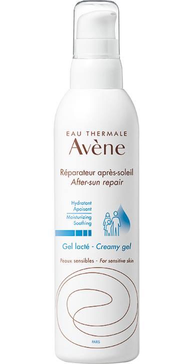 აღმდგენი ლოსიონი მზის შემდეგ / avene After-Sun Repair Lotion Creamy Gel