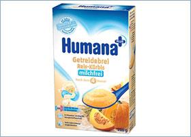 ბრინჯისა და გოგრის ურძეო ფაფა / rice and pumpkin Milk free