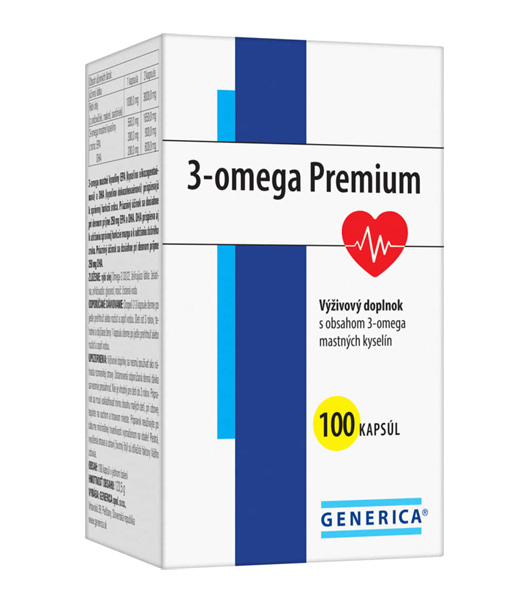 3 ომეგა  პრემიუმი / Omega 3 Premium