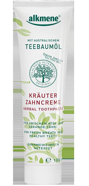 ალკმენე - კბილის პასტა ჩაის ხის, ჰერბალი / Alkmene- Herbal Toothpaste