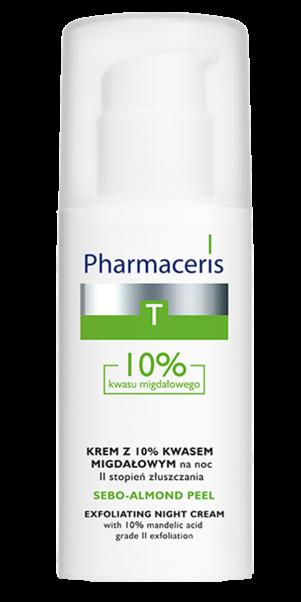 ღამის პილინგური კრემი 10% II დონე - ფარმაცერისი / SEBO - ALMOND PEEL 10% - Pharmaceris