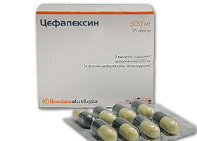 ცეფალექსინი / Cefalexin