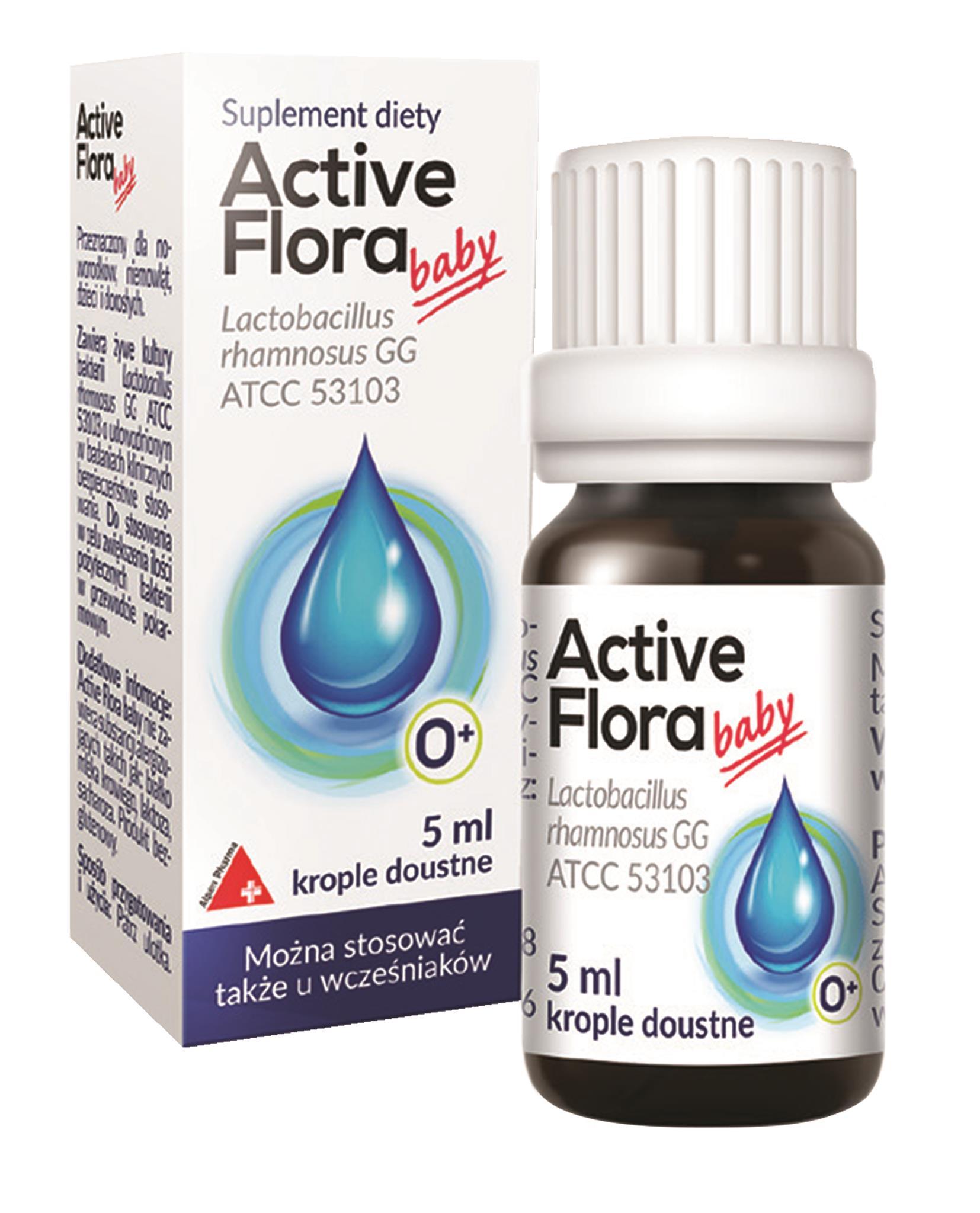 აქტივ ფლორა ბები / Active Flora Baby