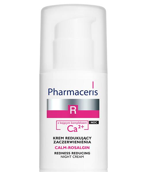 სიწითლის საწინააღმდეგო  ღამის დამამშვიდებელი  კრემი Ca2 + კომპლექსით - ფარმაცერისი / CALM-ROSALGIN - Pharmaceris
