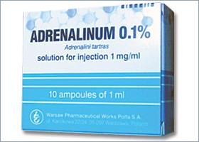 ადრენალინი 0.1% / ADRENALINUM 0.1%