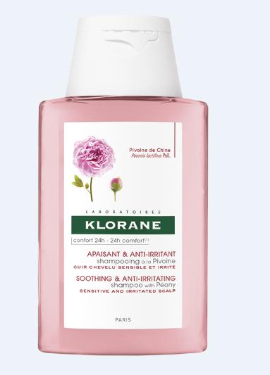 კლორანი - პეონის შამპუნი გაღიზიანებული სკალპის დასამშვიდებლად / Klorane - Shampoo  with Peony