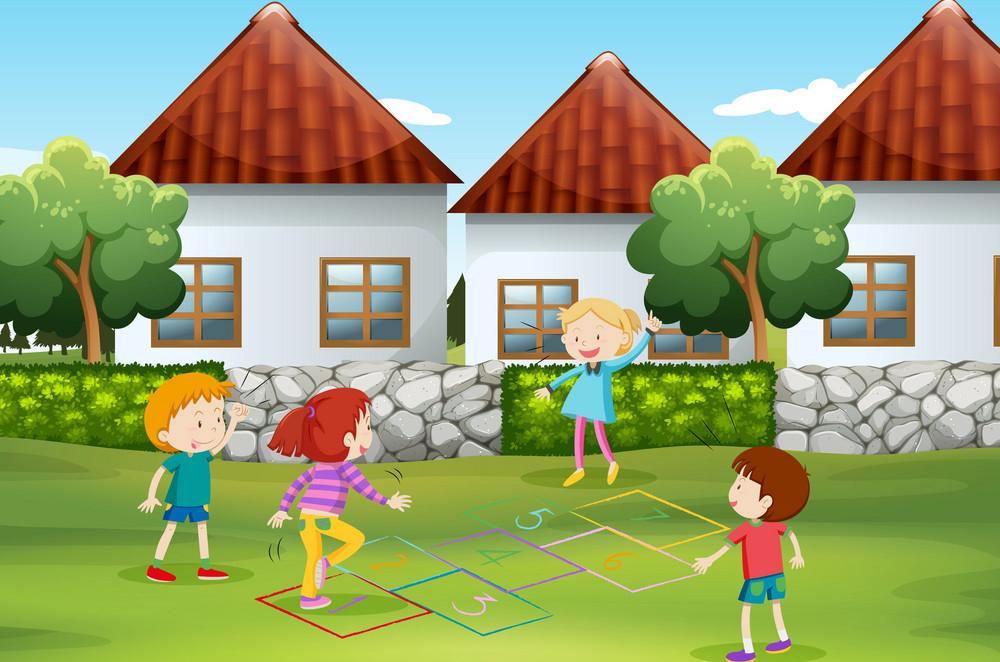 რატომ უნდა თამაშობდნენ ბავშვები ეზოში