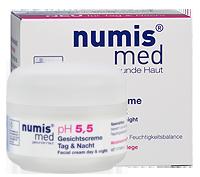 ნუმის მედი pH 5,5 სახის კრემი დღე და ღამე / numis® med pH 5,5 Facial Cream  day & night
