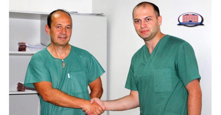 ჩეხი ქირურგის ვიზიტი ქირურგიის ეროვნულ ცენტრში