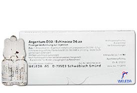არგენტუმი D 30/ ექინაცეა D 6 აა - ველედა / Argentum D30/Echinacea D6 aa