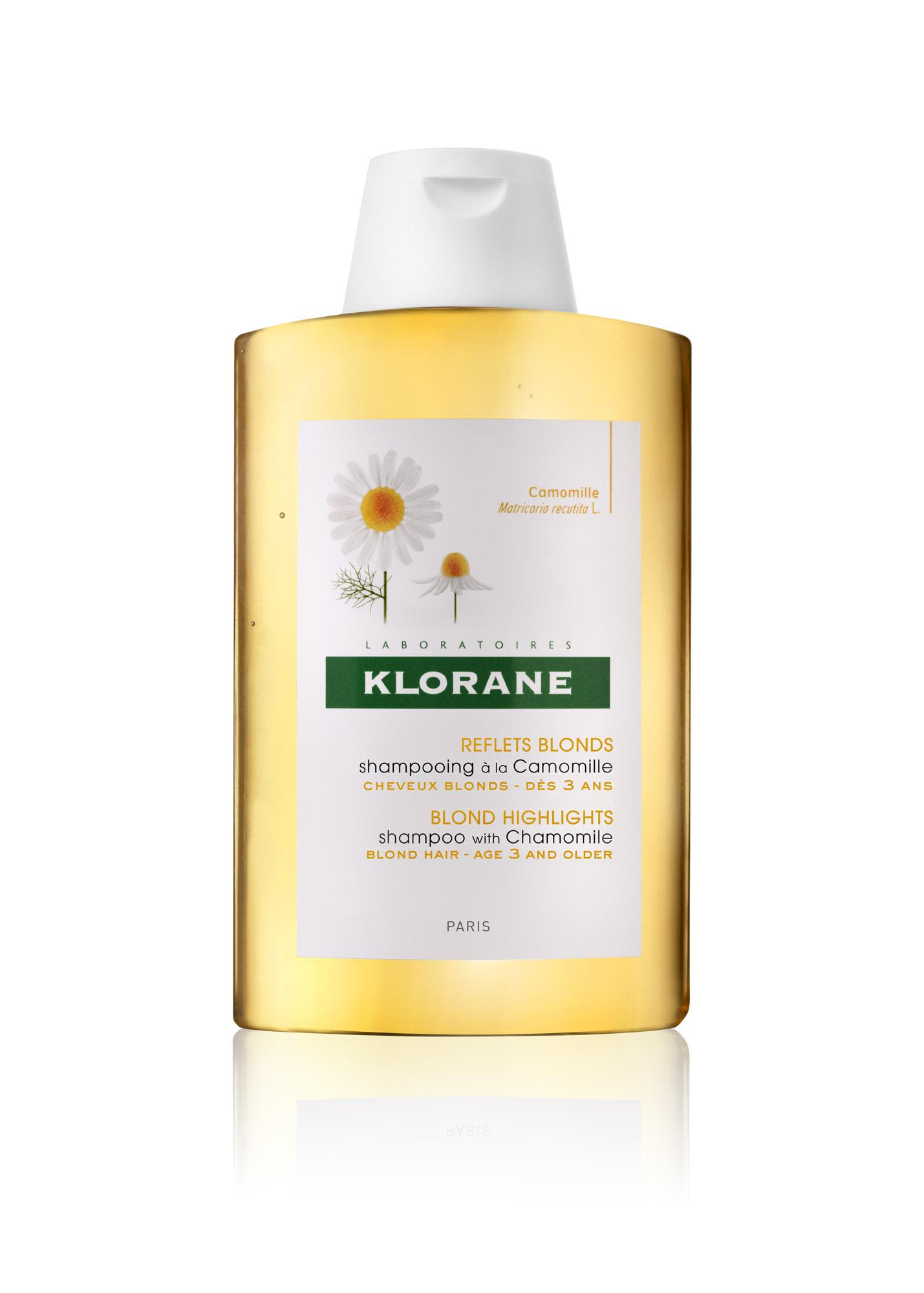 კლორანი - გვირილის შამპუნი ქერა თმისთვის / klorane - Shampoo with Chamomile