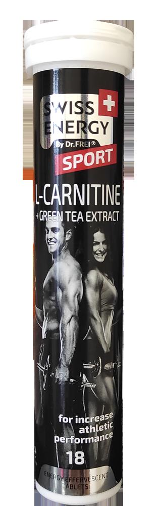 L კარნიტინი + მწვანე ჩაი / L Karnitine