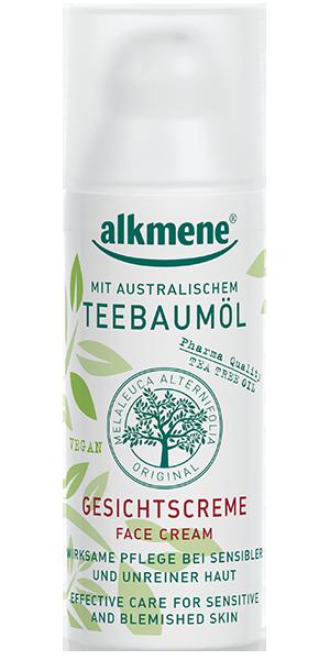 ალკმენე - სახის კრემი ჩაის ხის / Alkmene - Face Cream