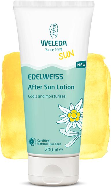 ედელვაისის გარუჯვის შემდეგ მოსავლელი ლოსიონი - ველედა / Edelweiss After Sun Lotiol  - WELEDA